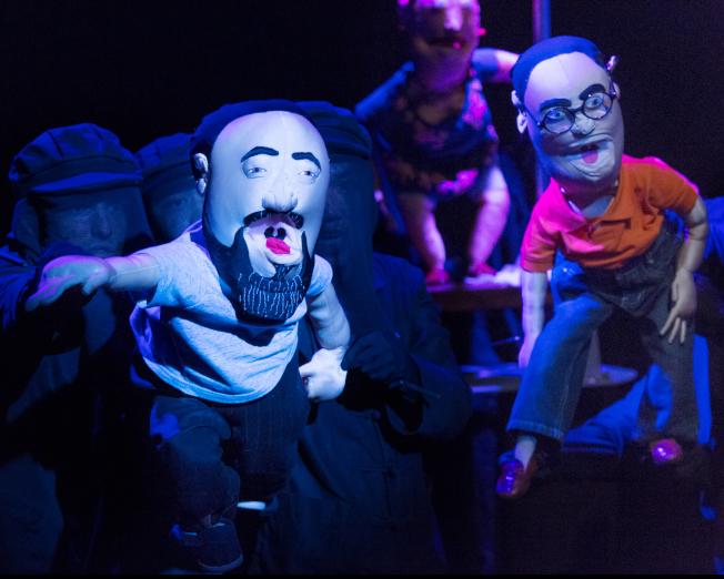 「中國製造」中的角色「未未」(左)與艾迪。(Heidi Bohnenkamp/攝影)