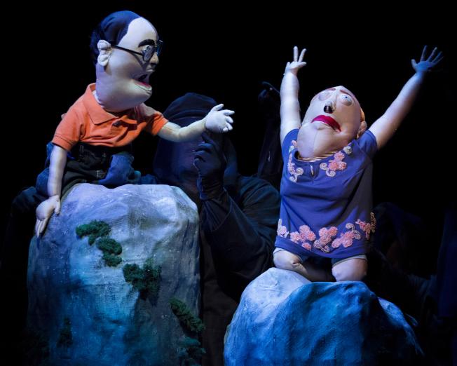 「中國製造」中的主角艾迪(左)與瑪莉。(Heidi Bohnenkamp/攝影)