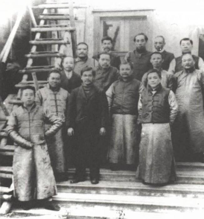 中工會成立至今已經100年。圖為1931年時中工會歷史照。(圖:中工會提供)
