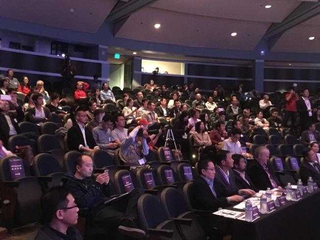 數百來賓參加這次活動。(記者王金城/攝影)