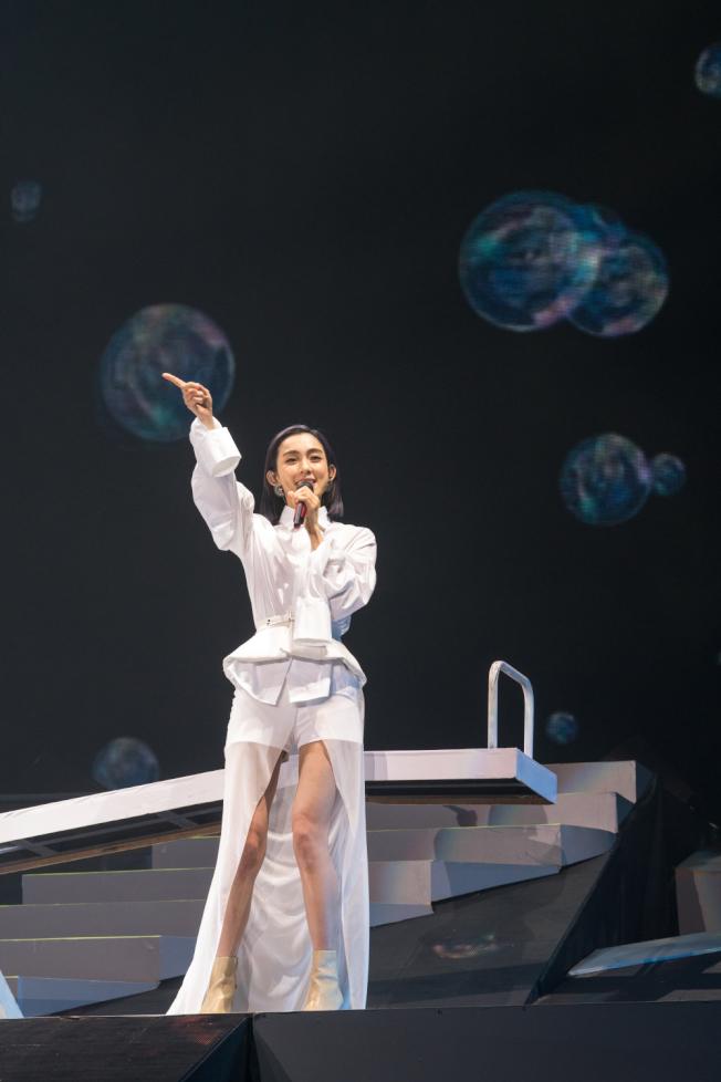 范瑋琪闊別舞台四年後在深圳開唱。(圖:福茂唱片提供)