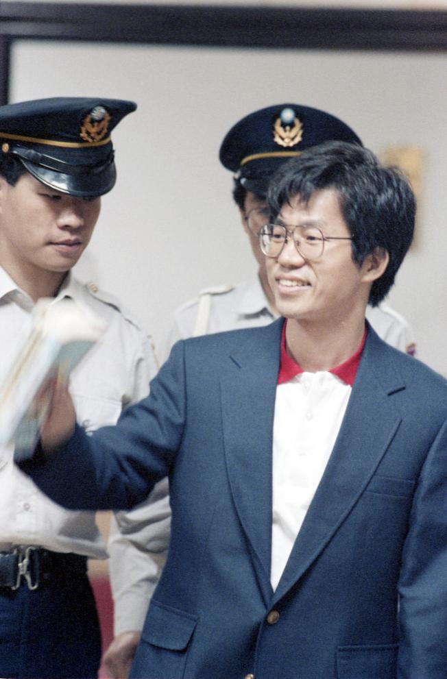 1991年,環保署長李應元。(本報資料照片)