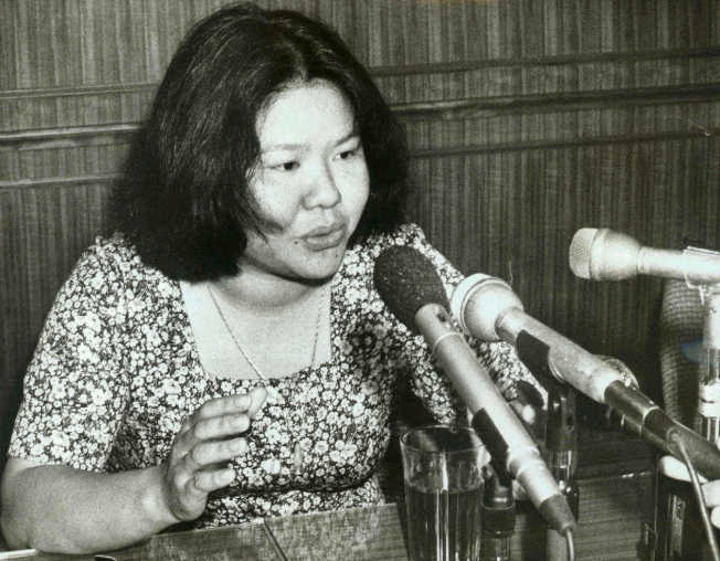 1978年,高雄市長陳菊。(本報資料照片)