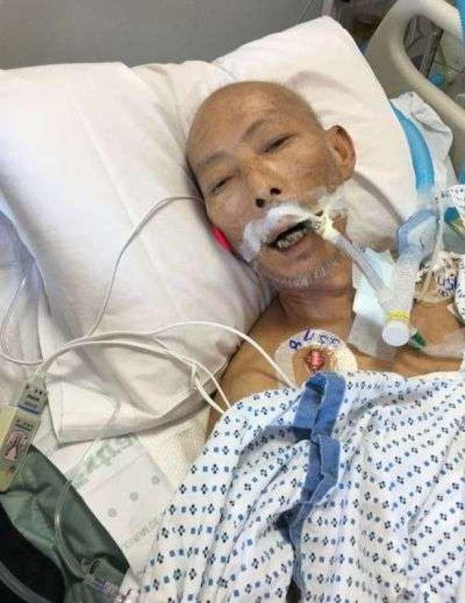 癌症患者林存熙盼小兒子來美見最後一面,最終未能如願。(本報資料照片)