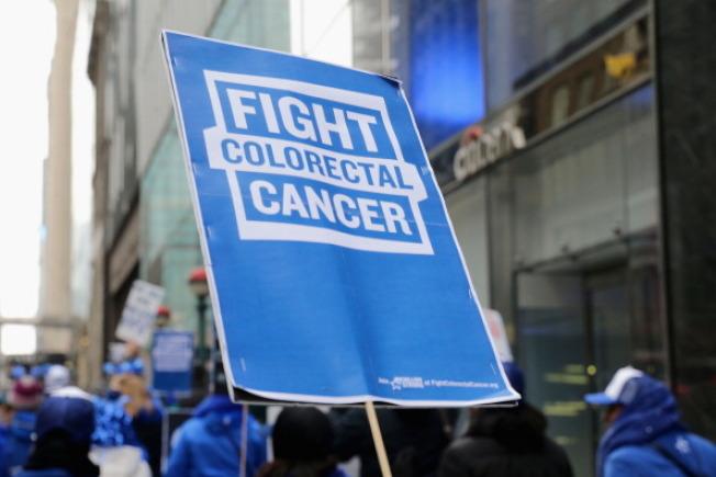 3月為全美大腸癌保健防治警覺月,愈來愈多千禧世代和中年人加入宣導抗癌的行列。(Getty Images)