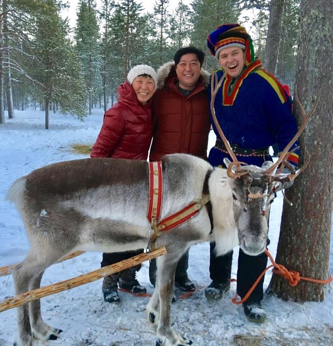 北極圈傳奇故事中的主角們-薩米爾族人和馴鹿!