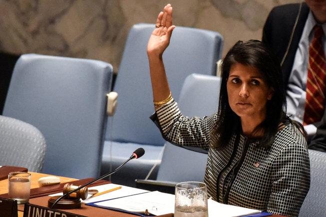 以美國為首的國家提出懲戒敘利亞決議案,卻遭俄羅斯否決。(路透)