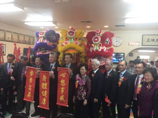 羅省英端工商會與英華俱樂部15日舉行春宴祭祖活動。(伍尚齊提供)