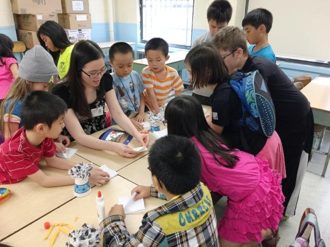 圖:百年紐約華僑學校即將推出嶄新、多元化、充滿活力的暑期班,品質卓越,收費合理。