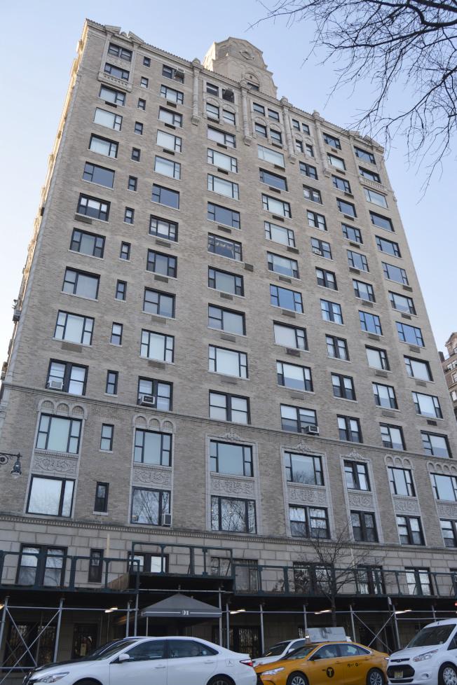 中央公園西路91號豪華合作公寓深受喬治阿瑪尼鍾愛。(記者俞姝含/攝影)