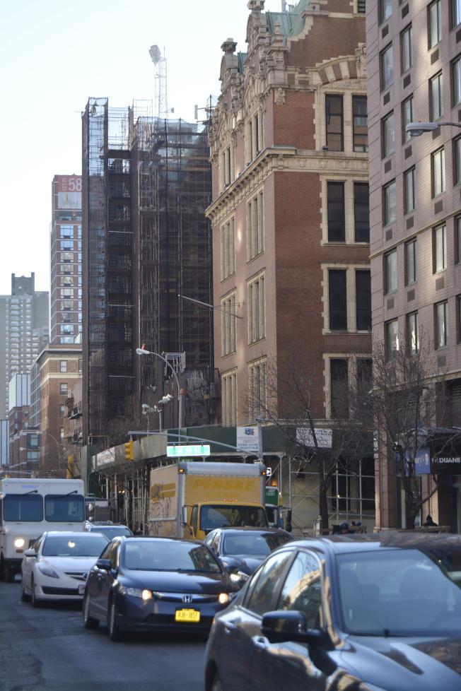 上西區擁有豐富的老派豪華公寓房源。(記者俞姝含/攝影)