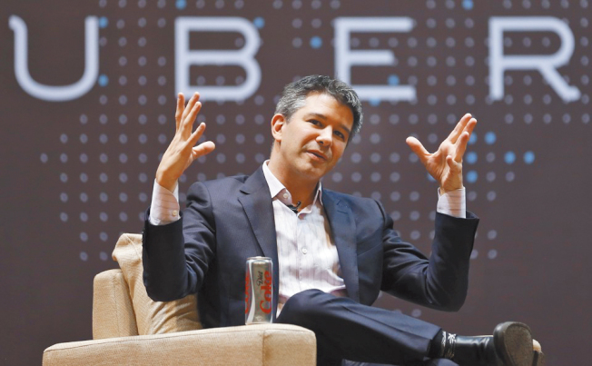Uber執行長卡蘭尼克(Travis Kalanick)。(Getty Images)
