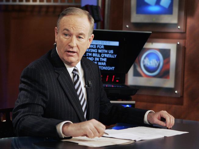 歐萊利是福斯新聞網的王牌之一,這是他在2007年的資料照片。(美聯社)