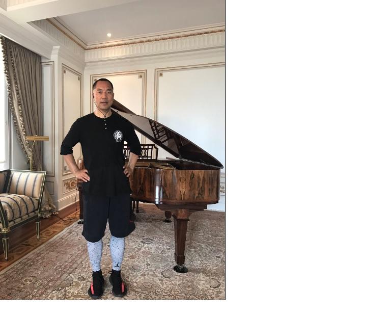 郭文貴連日來在推特貼出照片,顯示他目前的生活狀況。(取自郭文貴推特)