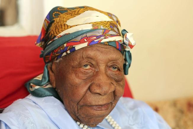 布朗剛歡慶117歲生日。(美聯社)