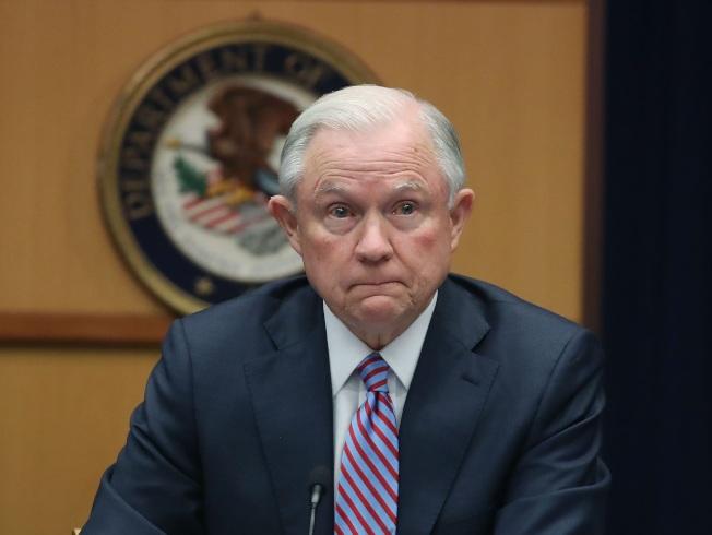 全美93個聯邦檢察官空缺迄今未補,使得司法部長塞辛斯陷入無人可指揮的窘境。(Getty Images)