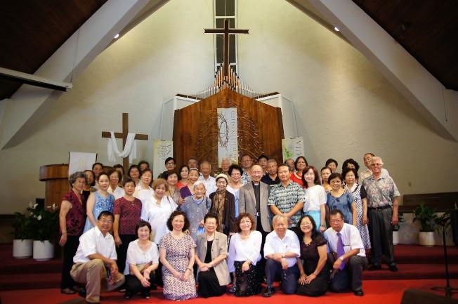 夏威夷台灣基督長老教會4月16日舉行慶祝復活節音樂禮拜。(通訊記者高振華/攝影)