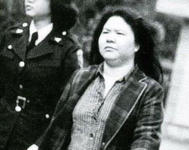 近40年前,陳菊竟然是長髮飄逸。圖/陳菊臉書