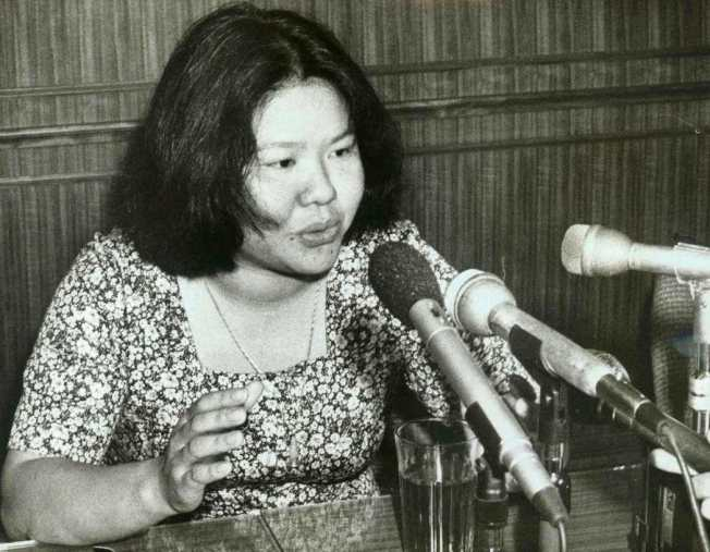 高雄市長陳菊1978年的照片。圖/本報資料照片