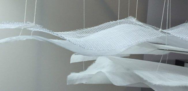 Pinaree Sanpitak在Brookfield Place展出的作品「屋頂」。(取自Brookfield Place官網)