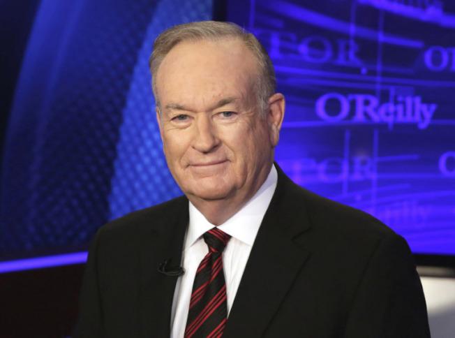 前福斯新聞王牌主持人歐萊利雖因性醜聞下台,仍可抱走多達2500萬元的酬勞。(美聯社)