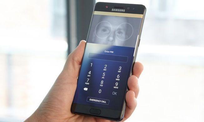 看好虹膜掃描的安全性更高,南韓信用卡公司打算將這項技術運用於手機交易。(圖/網路照片)