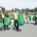 地球日撿垃圾 美化社區