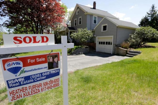 房地產經紀說,今年是多年以來最強勁的賣家市場。(美聯社)