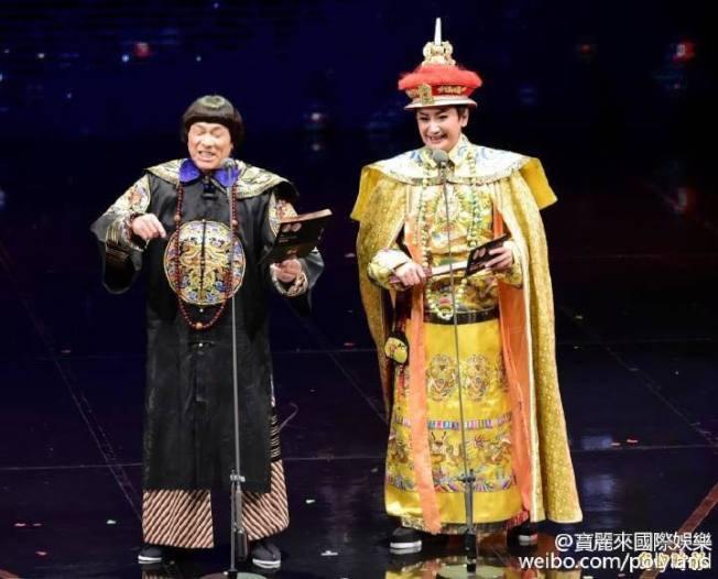豬哥亮(左)離世,陳亞蘭哀痛到心情久久無法平復。(圖/摘自陳亞蘭臉書)