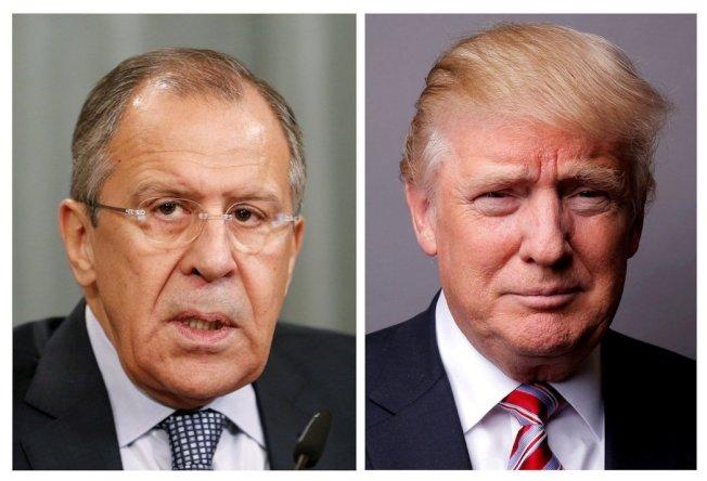 在外媒報導美國總統川普日前洩漏恐攻情資給俄羅斯外長的消息後,川普推文捍衛自己,稱他有「絕對的權利」作出上述行為。(圖/路透)