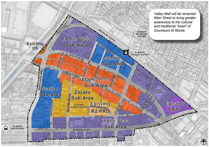 艾爾蒙地市公布市中心住商混合建案。(市府提供)