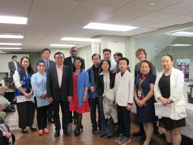 16日ASA大學舉辦第四屆「亞太裔傳統月和2017夏季文化節」,希望透過活動發揚中華文化。(記者顏嘉瑩/攝影)