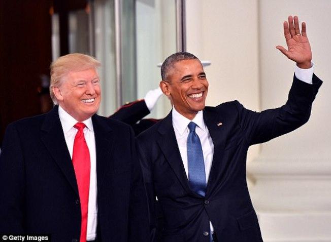 歐巴馬私下對友人說,川普是吹牛大王。(Getty images)