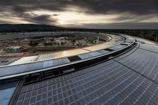 太空船圓環屋頂設計。(Getty Images)