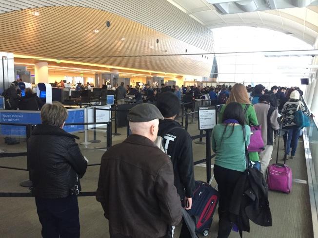 聖荷西國際機場年度旅客人數較去年成長超過100萬,是全美50大機場中,旅客人數成長最快的機場。(圖:檔案照片)