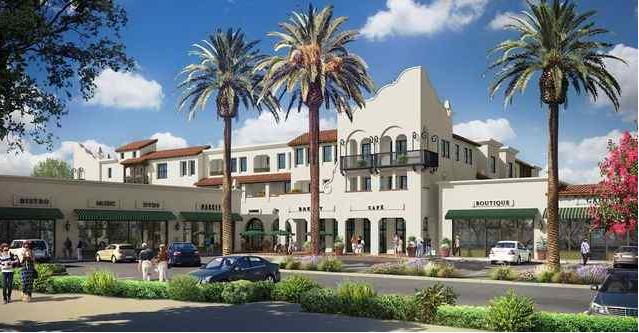 聖蓋博Mission District有華人投資新的住商兩用開發案。(開發商提供)