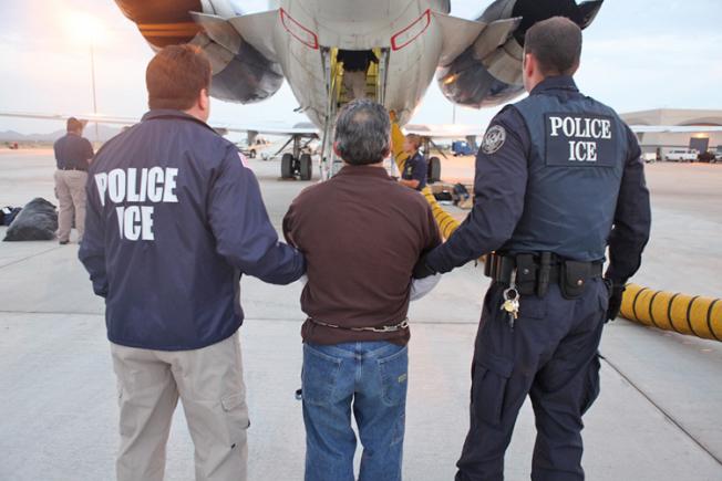 無證華男打架留案底,去移民局報到被遣返。(取自ICE網站)