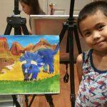 橘郡青少年繪畫賽成績揭曉