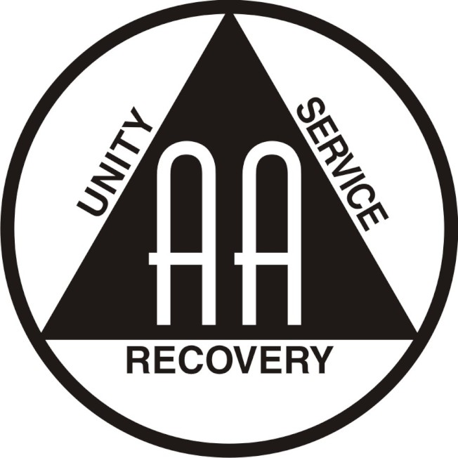 「戒酒無名會 (Alcoholics Anonymous,簡稱A.A.)」組織logo。(圖擷自Alcoholics Anonymous官網)