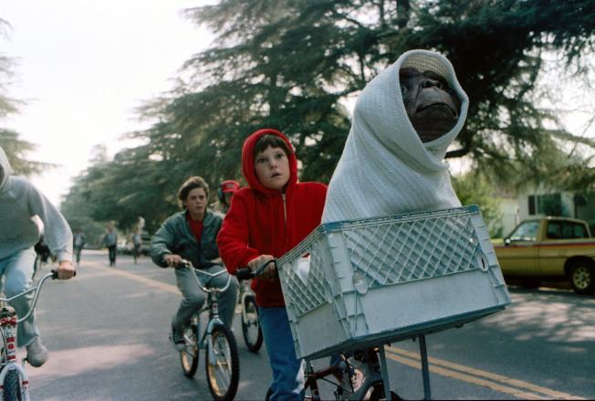 「E.T.外星人」劇照。(美聯社)