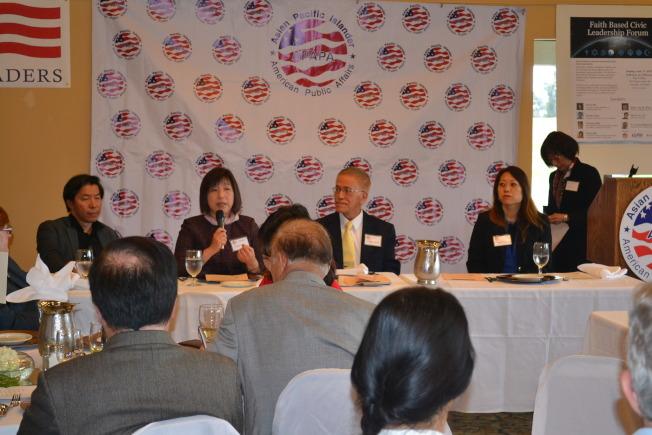 APAPA宗教領袖座談 基督徒、佛教徒交流