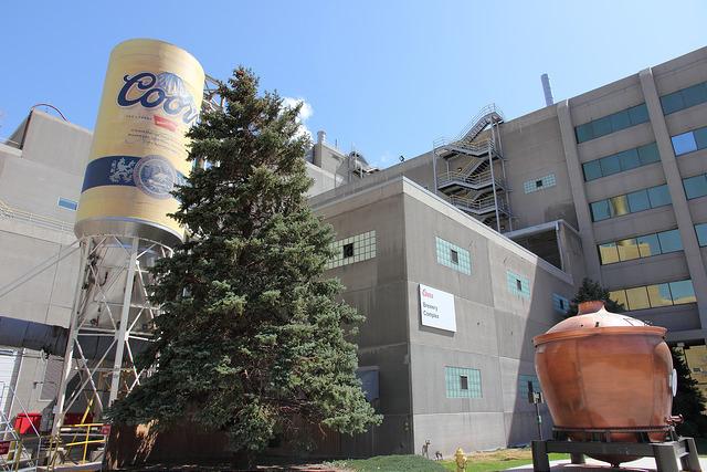 Coors啤酒廠外貌。