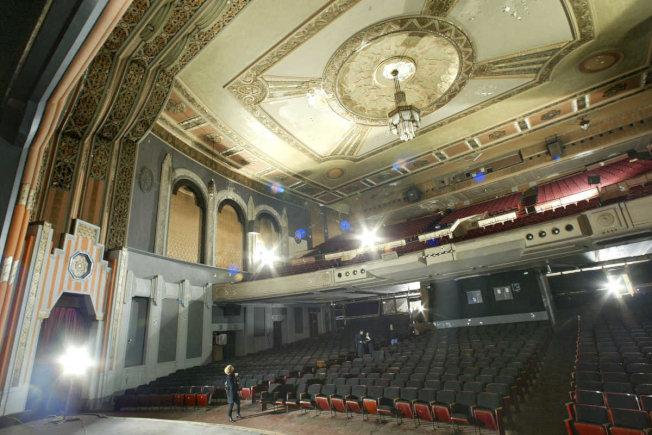 費城著名的博伊德劇院內部,目前已被拆除。(美聯社)