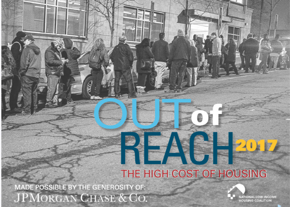 Out of Reach 2017報告,華盛頓特區全美「租不起」地區第二名