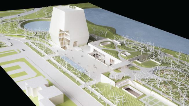 歐巴馬基金會15日公布,將斥資3.5億元修建歐巴馬中心,並於2021年開放。(取材自歐巴馬中心官網)