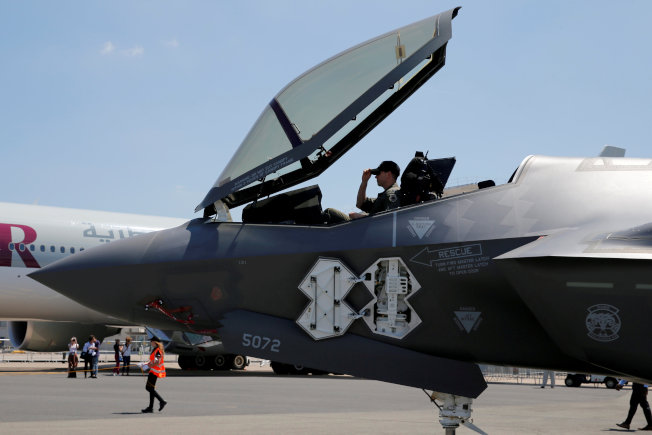 F-35A。(路透)