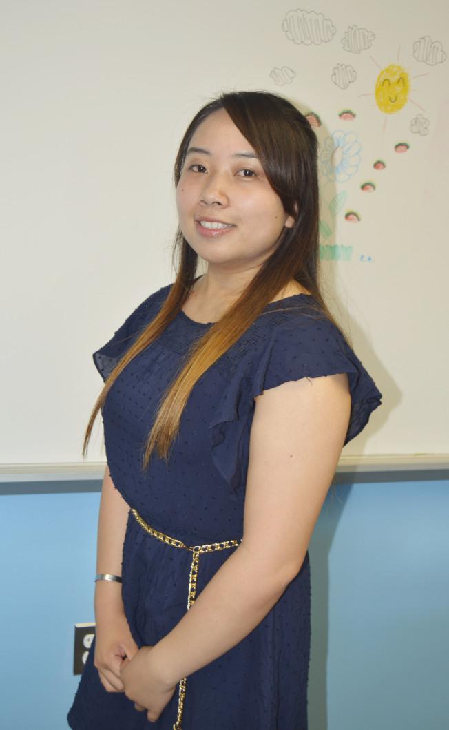 李綺儀高分畢業,隨父母在墨西哥、紐約生活培育領導力。(記者俞姝含/攝影)