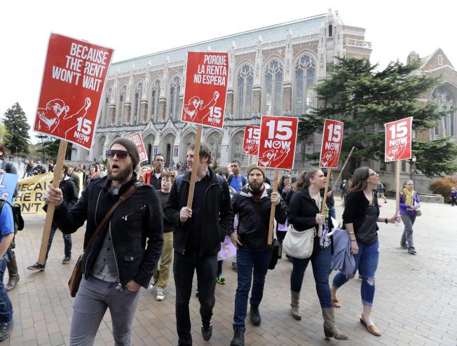西雅圖最低時薪15元 反而傷害低收入者