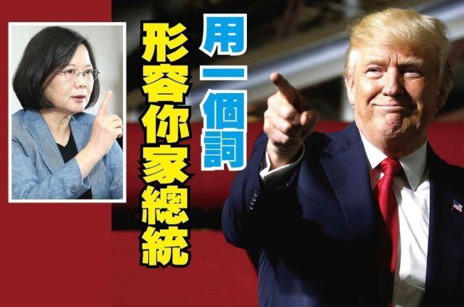 你會用哪個字詞形容總統?請不要像美國人喊川普「笨蛋」