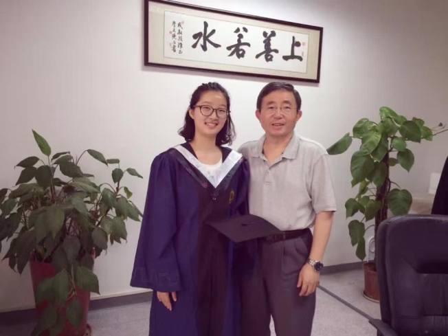 章瑩穎求學時期表現優秀。圖/家屬提供